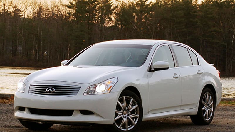 review 2009 infiniti g37x sport makes no excuses autoblog. Black Bedroom Furniture Sets. Home Design Ideas