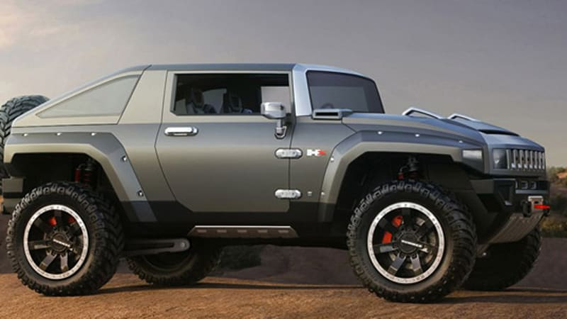 Hummer Models List >> REPORT: Hummer getting plans in order for H4 and H5 models - Autoblog