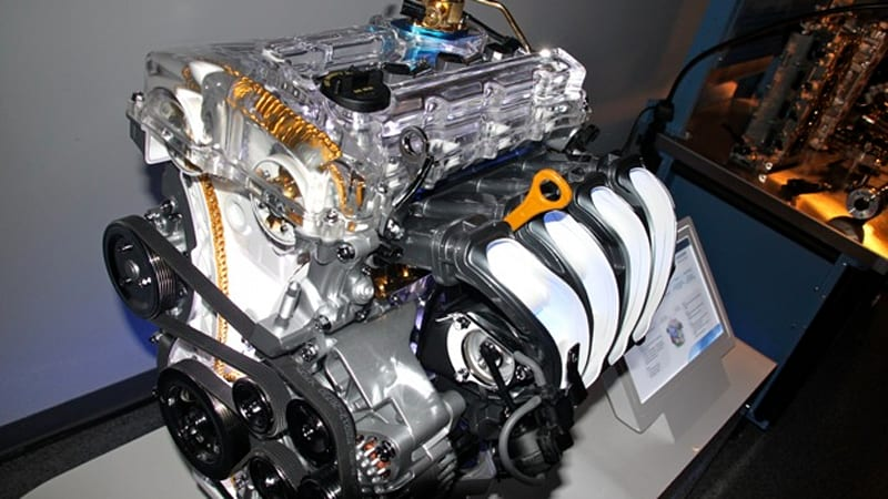 New Hyundai 2 4 Liter Gdi Four Cylinder Makes 200 Hp In
