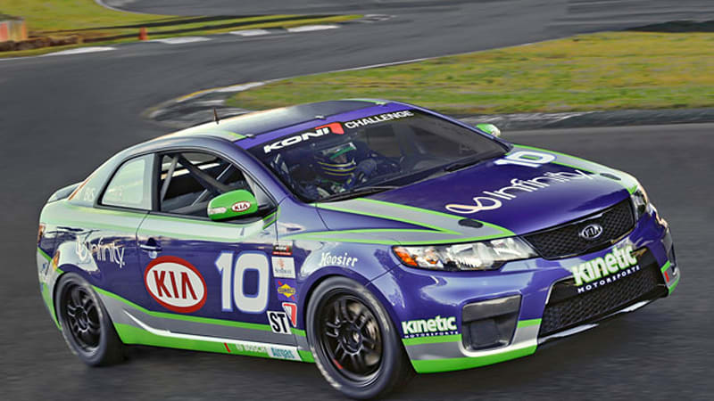 Kia Forte Koup Going Racing In 2010 Grand Am Koni Challenge