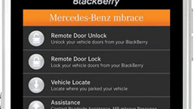 Mercedes Benz Mbrace App >> Mercedes Benz And Hughes Release App Based Mbrace