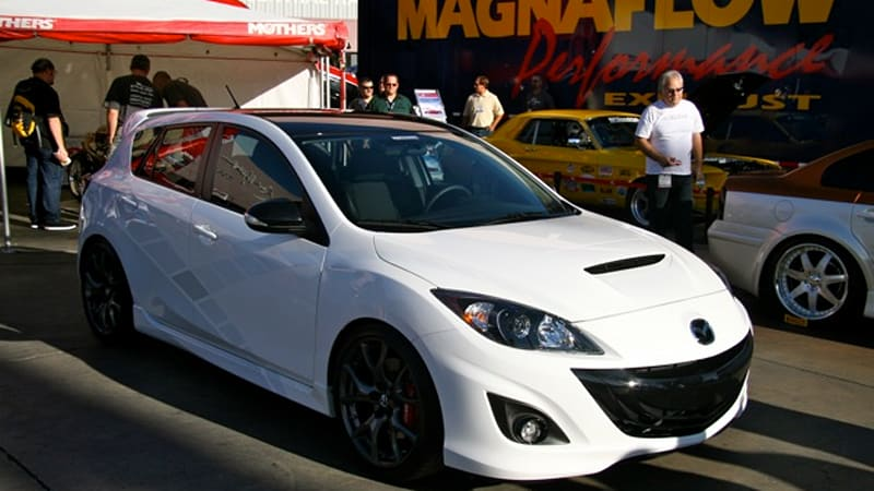Sema 2009 Mazda Introduces Us To A Happy Couple Inspires 3 Some Autoblog