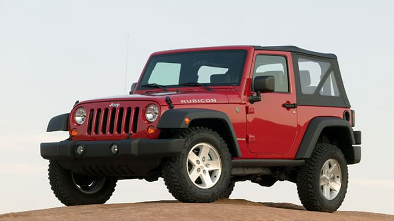 Jeep Recalling Over 161k 2007 2008 Wrangler At Models Due To Tranny