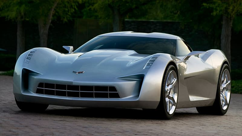 Chevrolet Releases 50th Anniversary Corvette Stingray Concept Again
