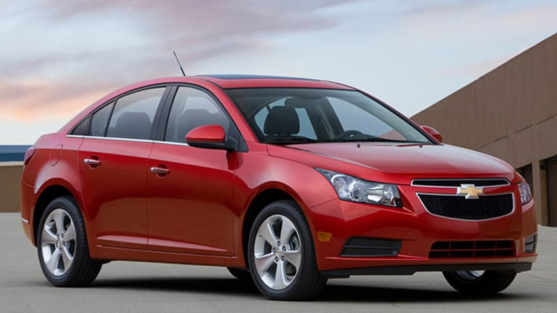 LA Preview: 2011 Chevy Cruze finally unveiled in U S -market trim