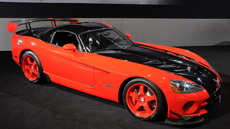 La 2009 Dodge Viper Enters Final Year With Tweaks And First Two