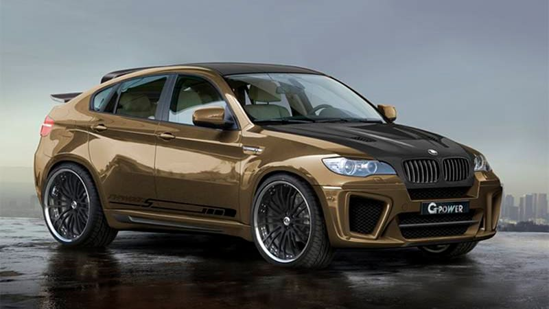 G Power Takes The Bmw X6 M X5 M To 600 Hp And Beyond Autoblog