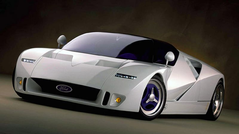 collectible concept  ford gt concept    auction autoblog