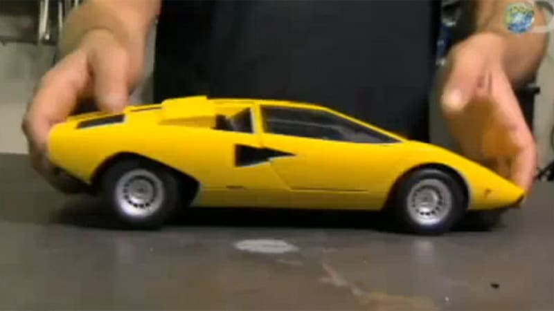 Great VIDEO: Mythbusters Tests Skipping Lambo From Speed Zone, A.k.a. Cannonball  Run 3   Autoblog