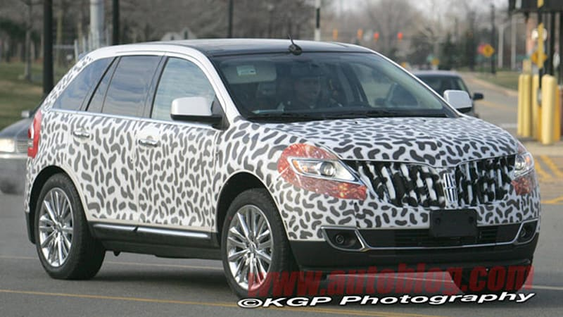 Spy Shots Lincoln Mkx And Ford Edge Redesigns Caught Nearly Naked Autoblog