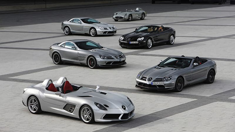 Mercedes And Mclaren Bid Farewell To Slr Each Other Autoblog