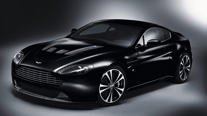 Heart Of Darkness Aston Martin Introduces Limited Edition Carbon