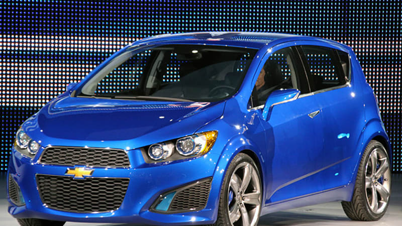 Detroit 2010 Chevrolet Aveo Rs Concept Answers One Question Poses
