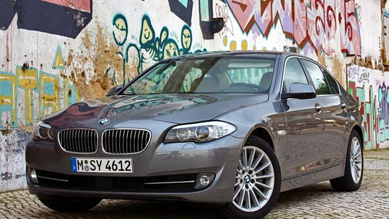 First Drive 2011 BMW 5 Series is a smooth operator  Autoblog