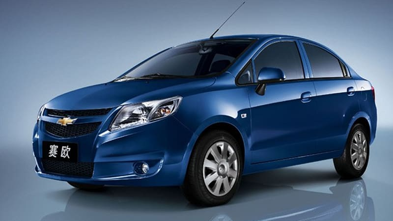gm new car releasesGM releases Chevrolet New Sail in China  Autoblog
