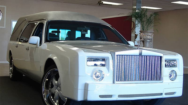 Ebay Find Of The Day Faux Rolls Royce Phantom Hearse Means You Can