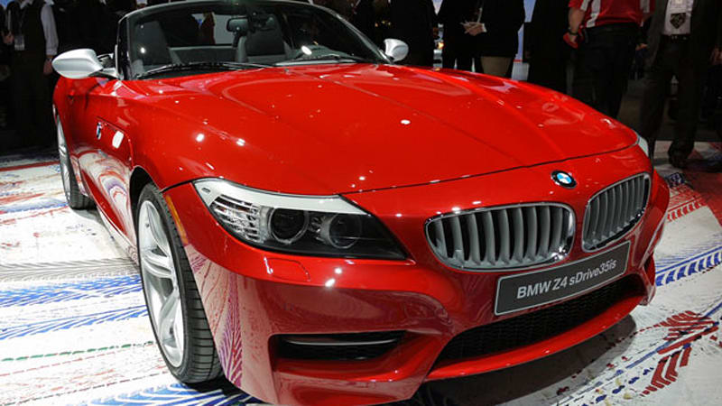 Detroit 2010 Bmw Z4 Sdrive35is Looks Far More Entertaining Than Its