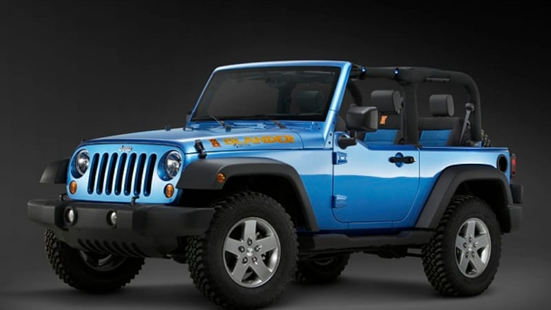 Detroit Preview Jeep To Unveil Wrangler Islander And Mountain Trims Plus Liberty Renegade