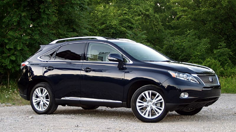 Review 2010 Lexus Rx450h Is The Pinnacle Of Autonomous Fuel Sippers