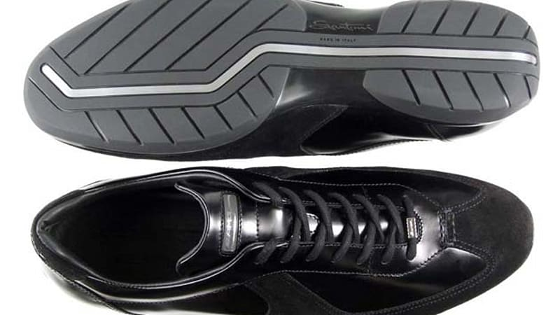 1b85a9f7a1 Santoni crafts driving shoes for the Mercedes-Benz SLS AMG - Autoblog