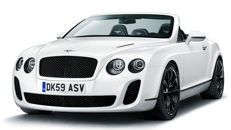 Geneva Preview 2017 Bentley Continental Supersports Convertible