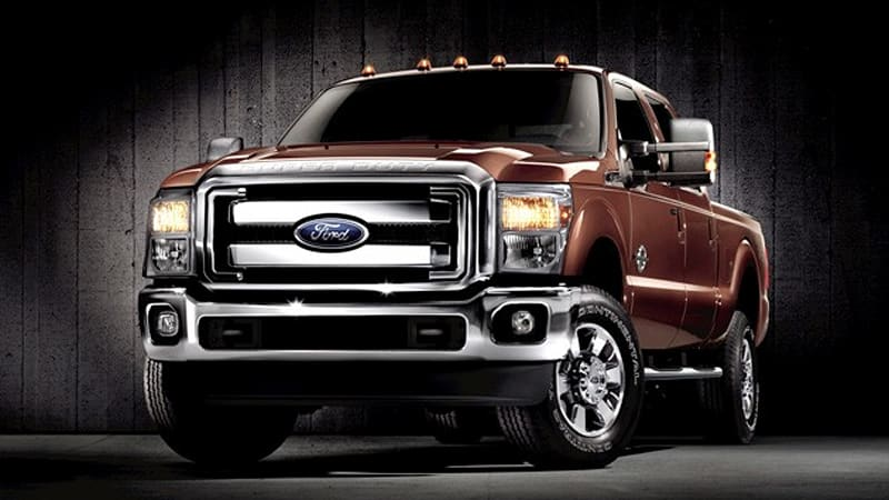 Ford 2011 F250 Towing Capacity