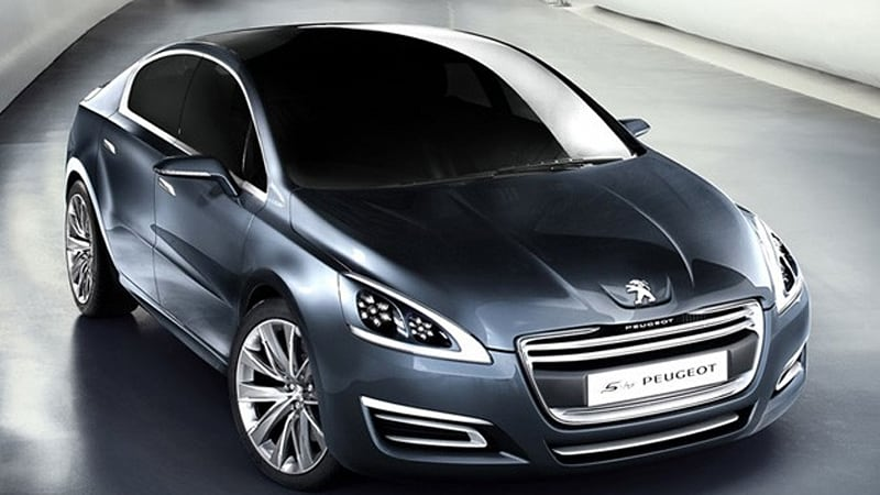 Geneva Preview 5 By Peugeot Foretells The Future Of The 508 Autoblog