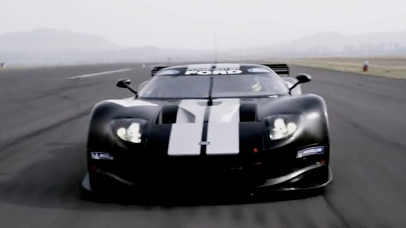 video new matech ford gt for gt1 racing looks and sounds gloriously evil - Ford Gt 2010