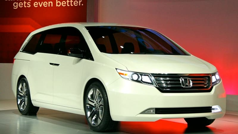 Chicago 2010 Honda Odyssey Concept Gives Clear Glimpse Of Next