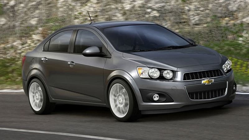 2012 Chevrolet Aveo Makes An Early Debut Autoblog