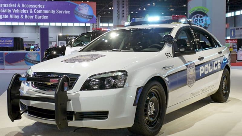 Chicago 2010 Chevrolet Rolls Out Caprice Police Car Autoblog