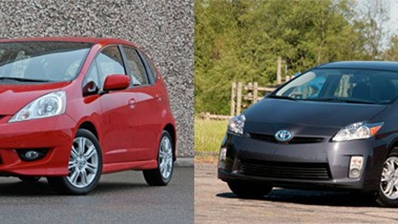 Honda Fit And Toyota Prius Named Consumer Reports Best Values For 2010