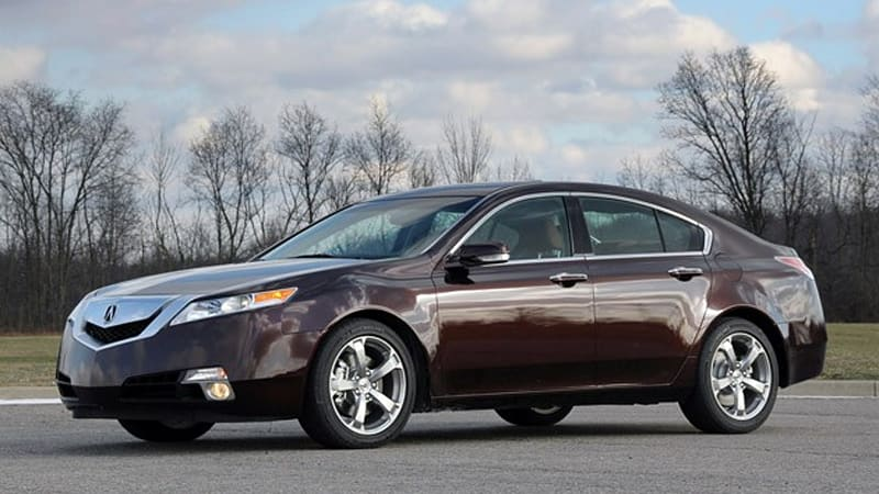 Review  Acura Tl Sh Awd Mt Is A Mouthful Not A Handful