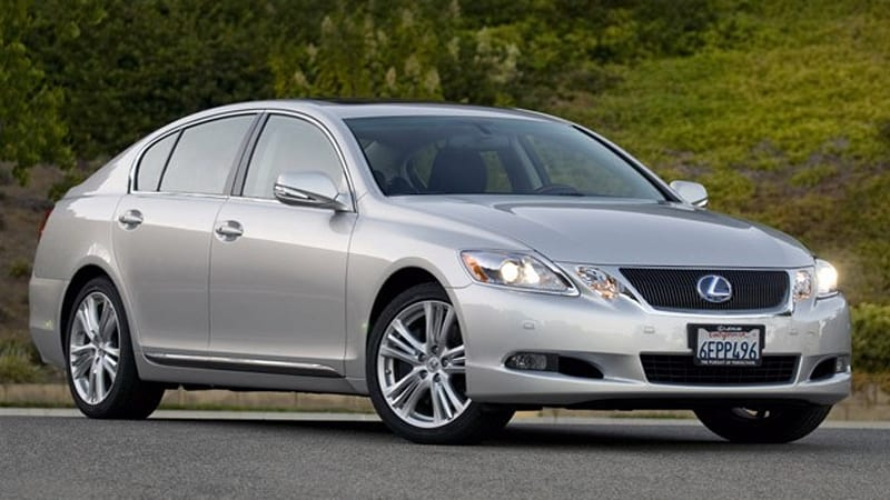 Review: Lexus GS450h uses electrons for fun | Autoblog