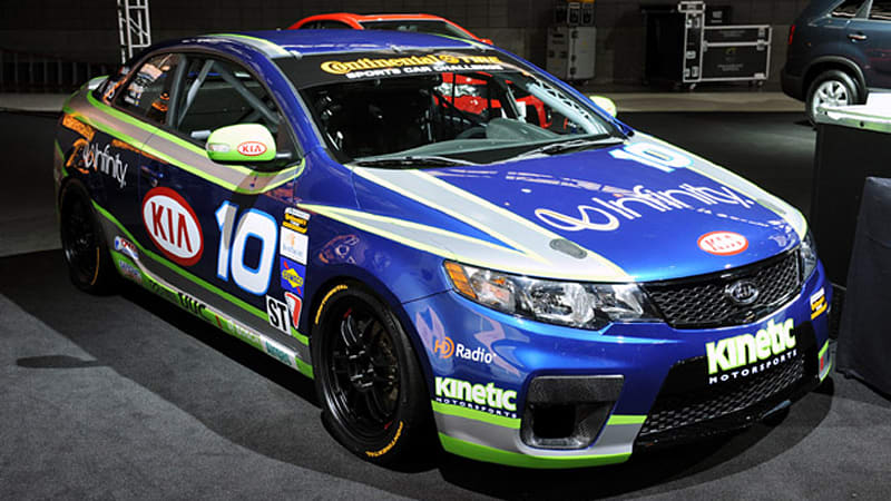 Chicago 2010 Kia Shows Off New Forte Koup Racecar Autoblog