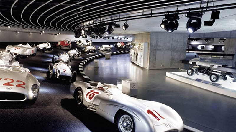 Mercedes Benz History >> Pics Aplenty Mercedes Benz Museum Showcases 120 Years Of Automotive