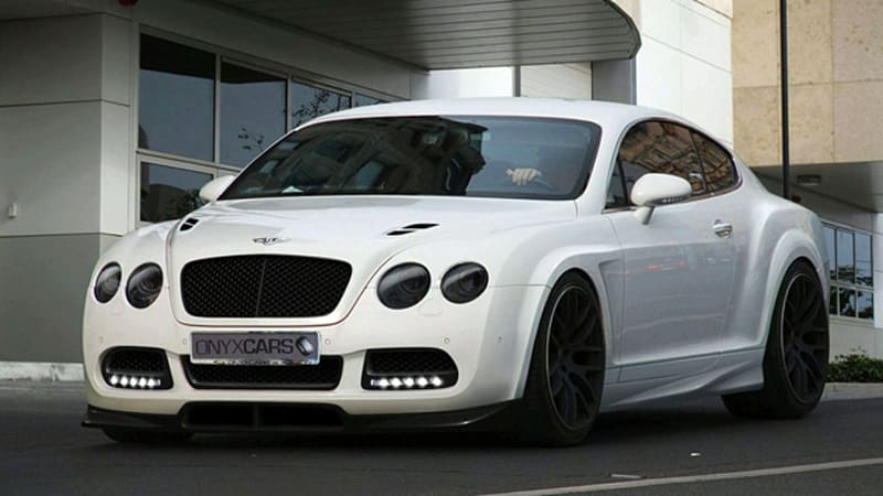 Onyx Gives The Bentley Continental The Platinum Gto