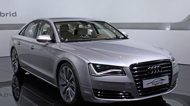 Geneva 2010 Audi A8 Hybrid A Concept In Name Only