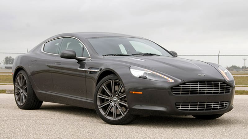 First Drive: 2010 Aston Martin Rapide is always ready for its close ...