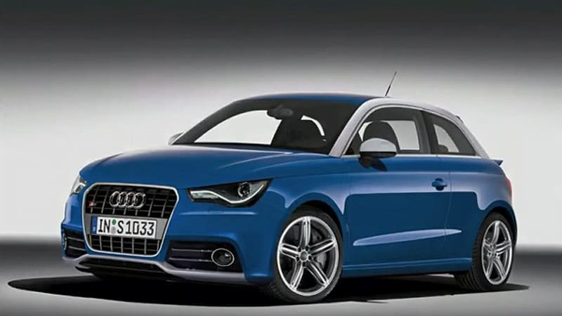 video how to transform an audi a1 into an s1 autoblog. Black Bedroom Furniture Sets. Home Design Ideas