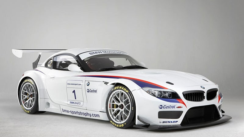 Bmw Z4 Gt3 Is The V8 Powered Z4 M You Can Race Autoblog