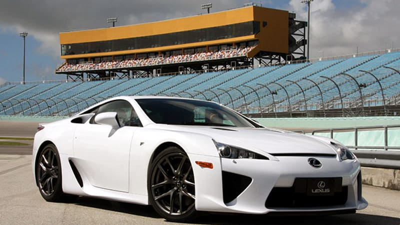 Lease the Lexus LFA for $12,400 per month, $298,000 due at signing ...