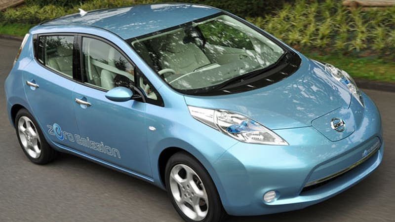 Nissan Leaf Available In Two Well Equipped Packages Sv And Sl Autoblog