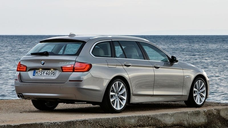Officially Official: 2011 BMW 5 Series Touring [w/video] - Autoblog