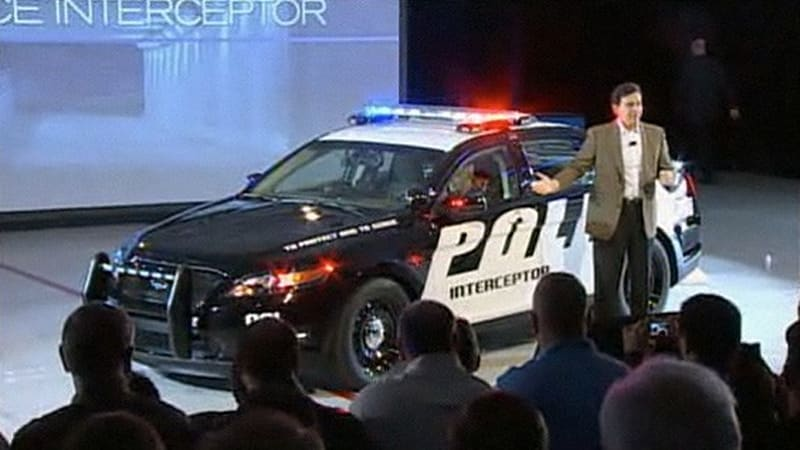 Officially Official: 2012 Ford Police Interceptor unveiled, second utility model announced ...