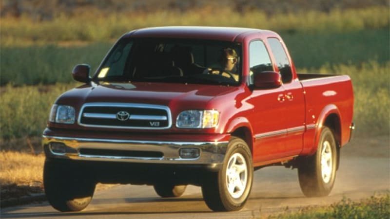 Report: Toyota may replace rusty frames on 2000-2003 Tundra pickups ...