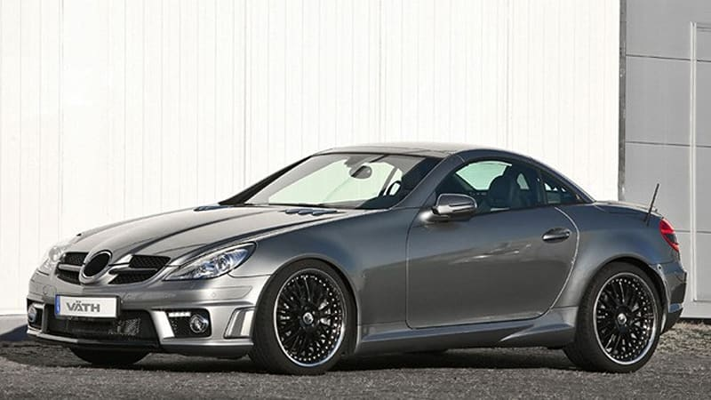 Vath V58 Turns Up The Wick On Mercedes Benz Slk55 Amg To The