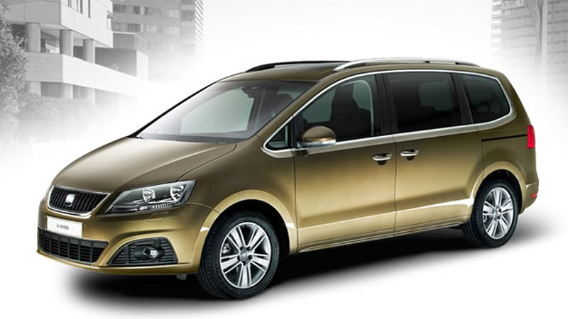 Seat Shows Off New Alhambra People Mover Based On Vw Sharan
