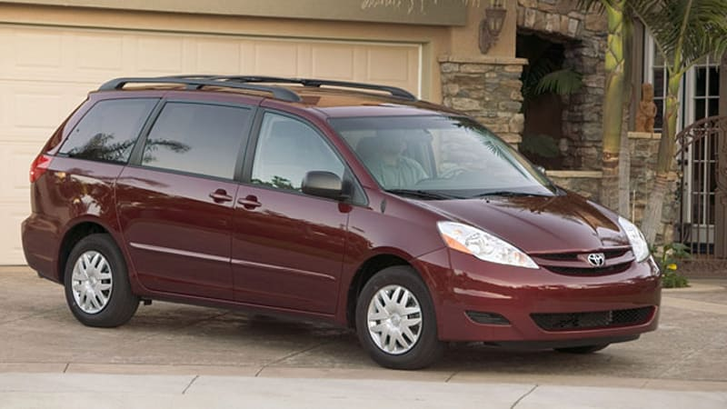 Toyota Recalling 600 000 Sienna Minivans Over Corrosion On