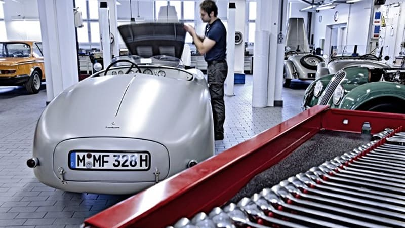 BMW opens up Classic Center to customer cars, establishes